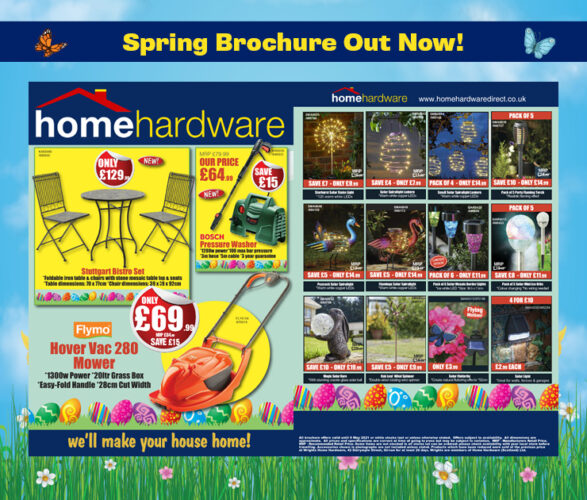 Spring Brochure Out Now