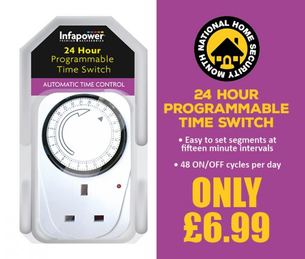 24 Hour Programmable Time Switch